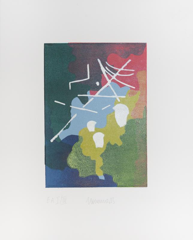 """7. Bonn und August Macke Der """"Seiltänzer"""" - eine der bekanntesten Arbeiten des Rheinischen Expressionisten - hier vereint in einer zeitgenössischen Symbiose von Malerei und Zeichnung."""